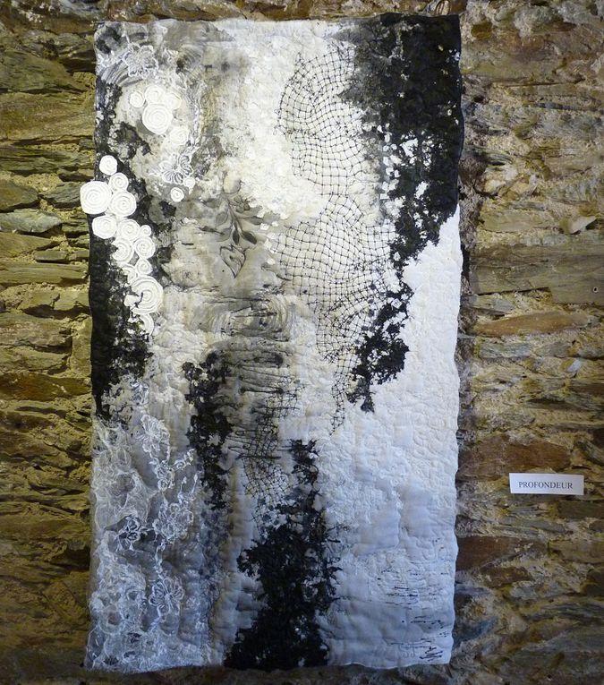 l'exposition de Sophie Furbeyre-Santoire au château de Lacaze