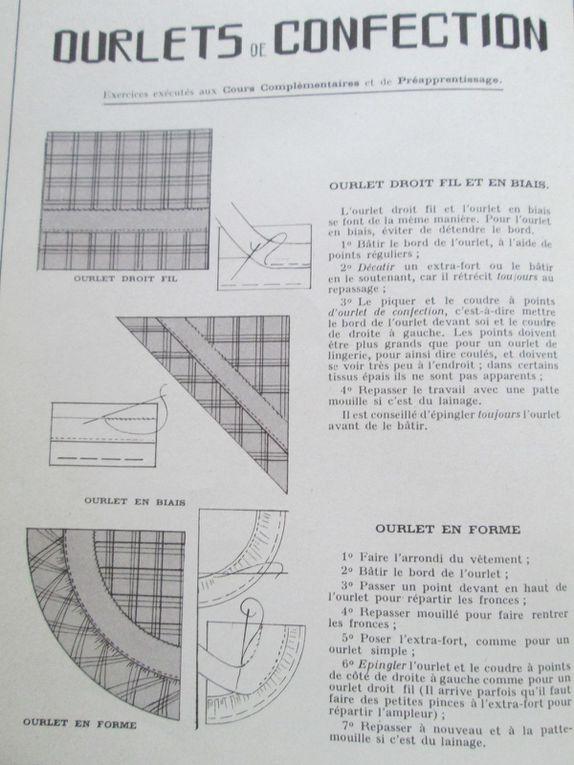 couture / manuel ancien