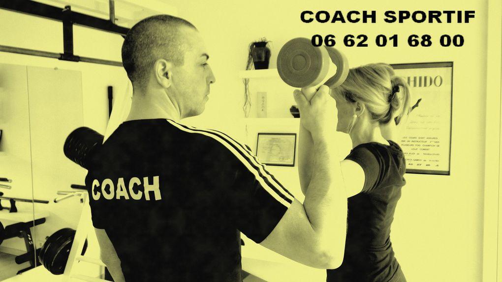 Lionel, votre Coach,  vous propose des cours individuels ou collectifs de sports, de karaté, de culture physique, de remise en forme, adaptés  à toutes personnes, hommes et femmes de tous âges qui souhaitent bénéficier d'un suivi personnalisé.