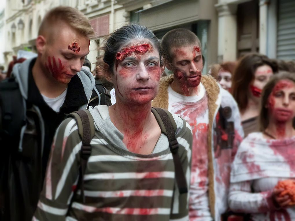Zombie Walk de Paris 2014