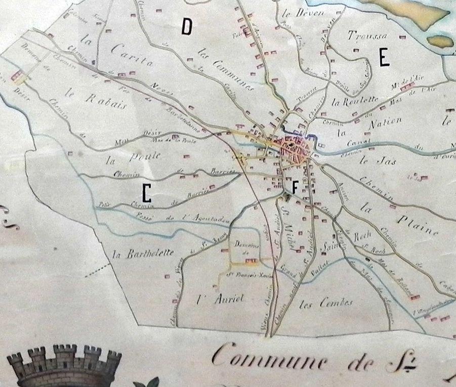 Histoire de Cabannes : Mistral, Vidau, Politique… et Plan de Cabannes en 1902