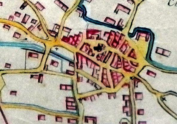 HISTOIRE DE CABANNES: Rue de la fabrique...imaginons le fuyant du moulin!