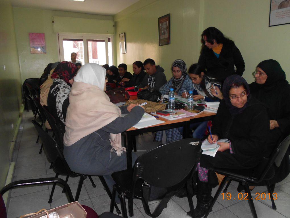 Associations De Lutte Contre l'Alphabétisation 2012-2013