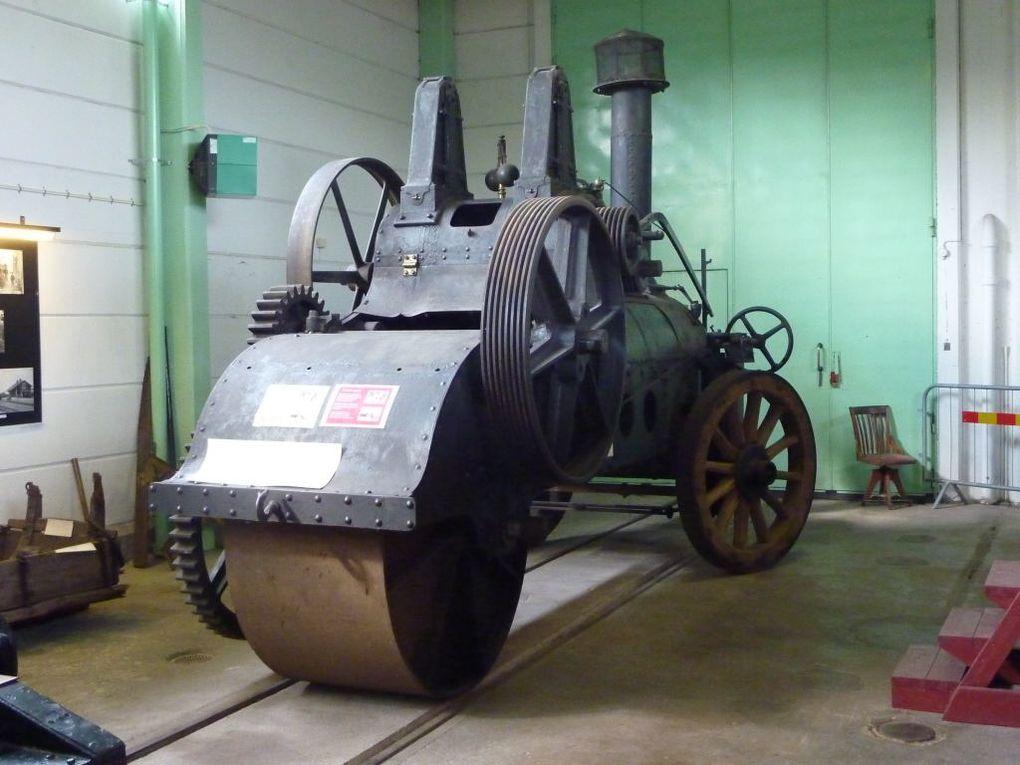 Le musée de chemin de fer à Hagfors en Suède