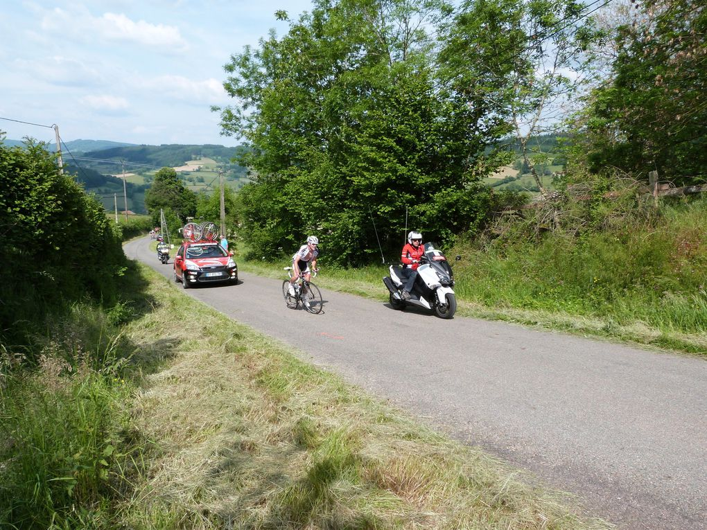 Tour du pays Charolais Brionnais.
