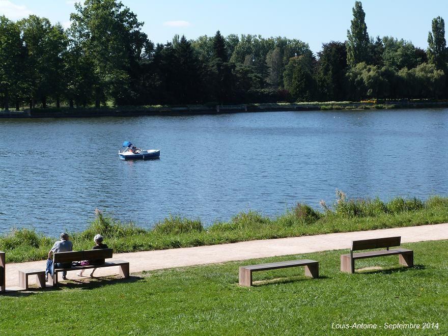 Des travaux importants ont fait des rives d'Allier un lieu calme et reposant.