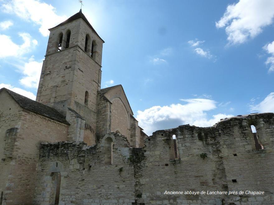 L'église de Lancharre a été classée monument historique en 1930.