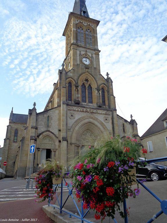 église Notre dame de l'Assomption construite de 1889 à 1894 d'après des plans dressés par l'architecte A. Pinchard