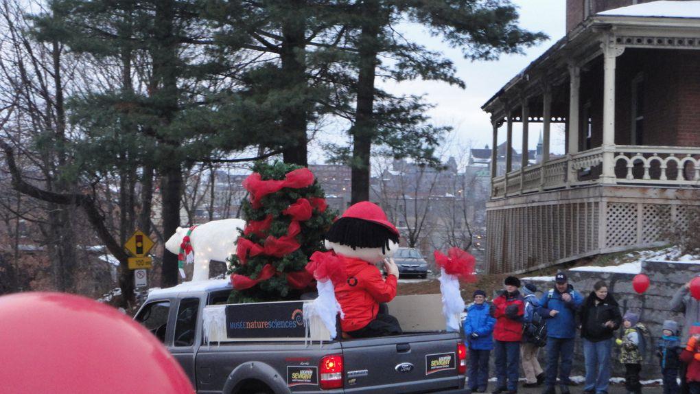 Défilé du Père Noel 2014