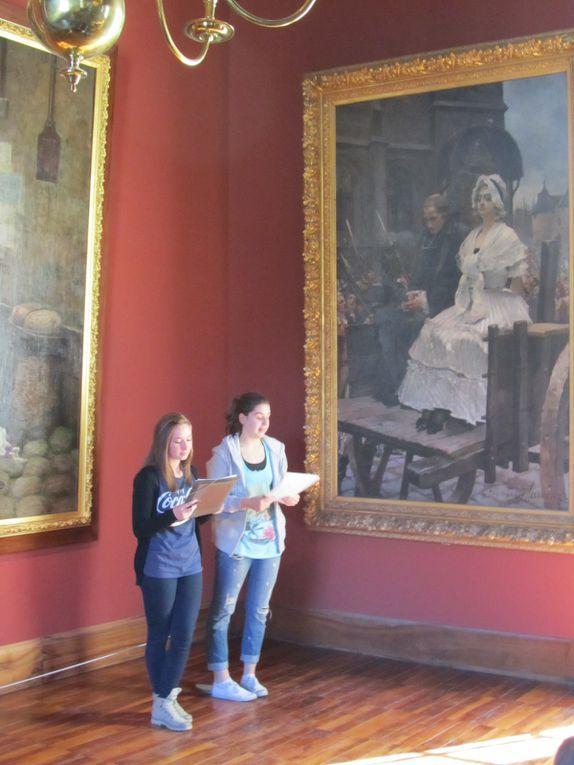 Visite du musée de la Révolution