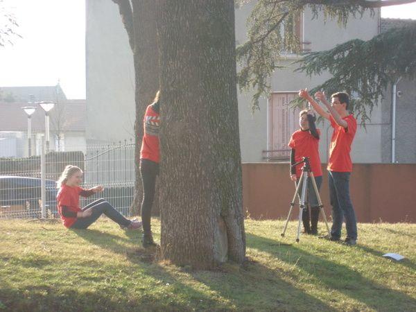 Tournage du clip de promotion de la cité Jacob Holtzer