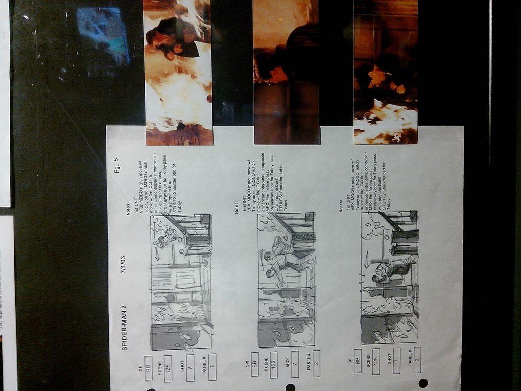 Du storyboard au tournage