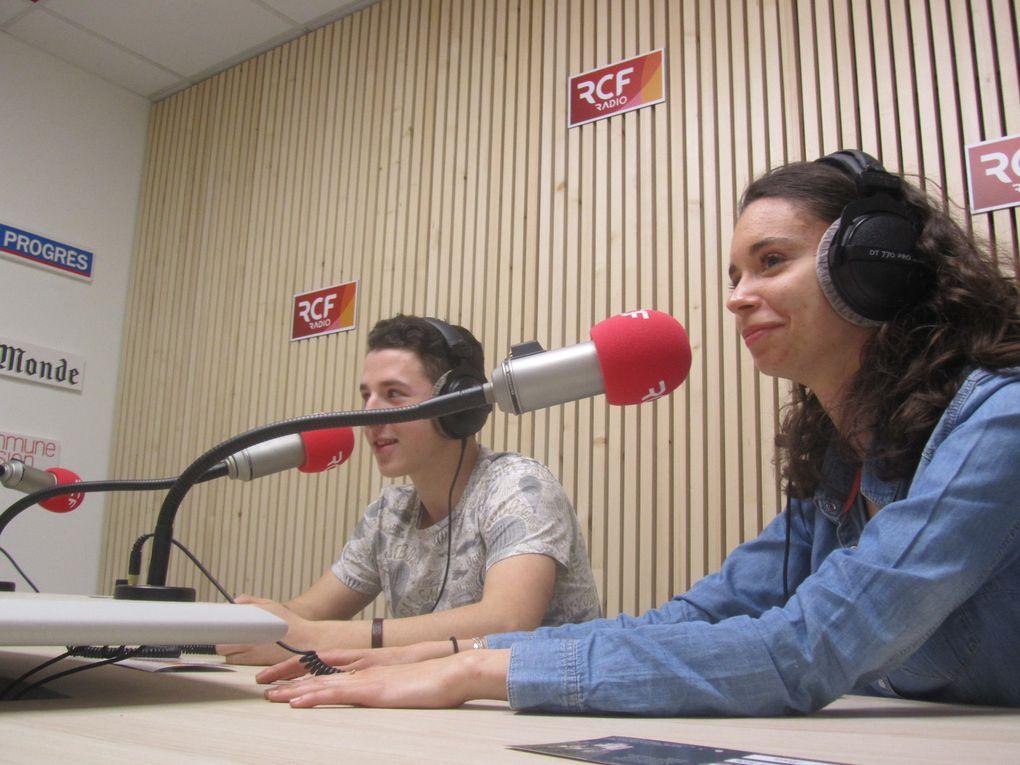 Emission enregistrée le 12 avril et à  écouter sur RCF-Saint-Etienne (94.7) le 26 avril à 20h (rediffusion le 30 avril à 10h30)