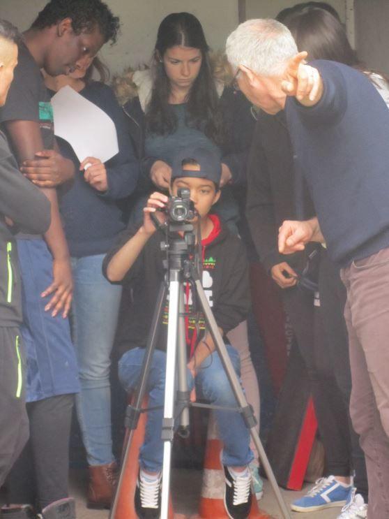 Journée de tournage pour Super 8 : Tria'CTE au son du Tam-Tam !