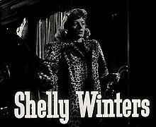 Shelley Winters, actrice américaine