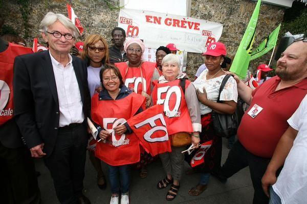 JC Mailly :        &quot&#x3B; Un syndicalisme libre et indépendant, alliant idéal et pratique, négociation et action &quot&#x3B;