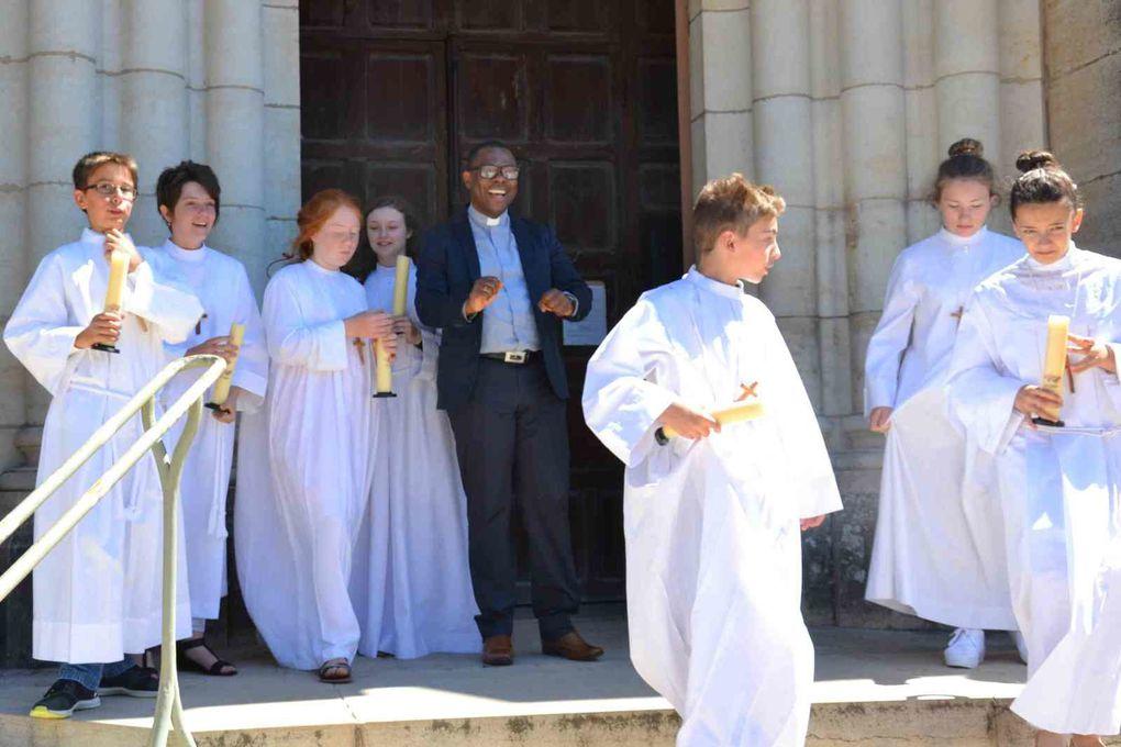 Profession de foi Pouilly-en-Auxois : La cérémonie