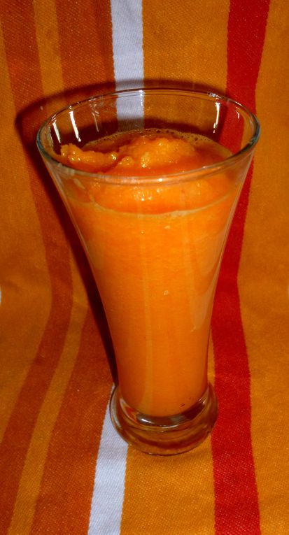Smoothie Carotte Orange &amp&#x3B; Ananas