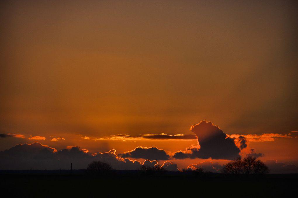 Coucher - lever de soleil
