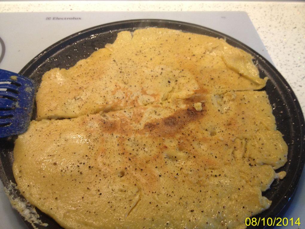 Socca : galette de farine de pois chiches niçoise