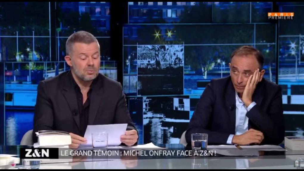Michel Onfray - Zemmour et Naulleau (Paris Première) - 22.02.2017 - Décadence