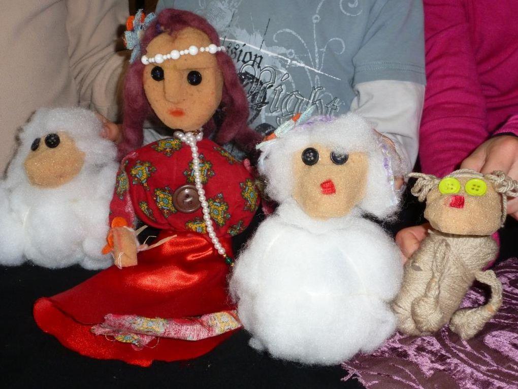 La bergère et ses moutons