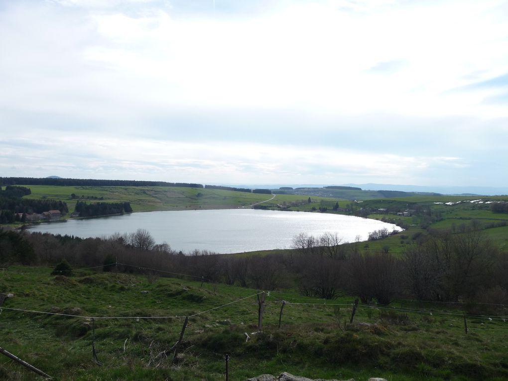 Le lac de Saint Front, un ancien cratère.