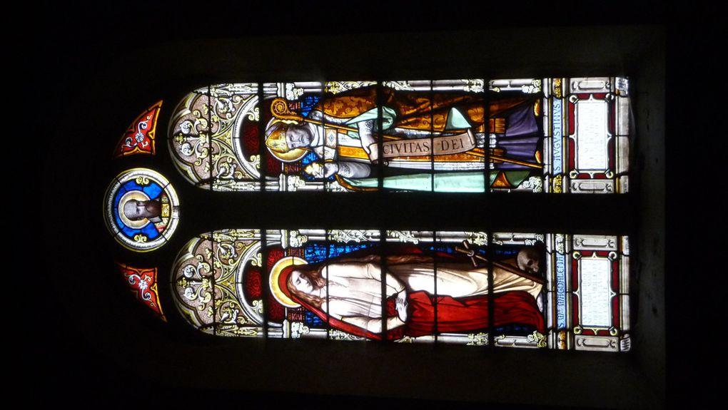 Et leurs vitraux.