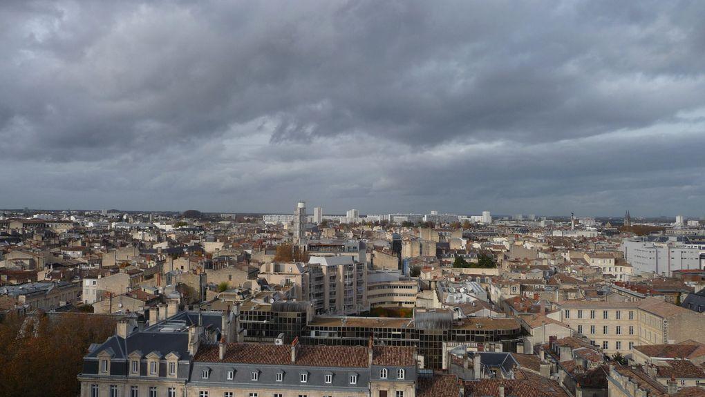 Bordeaux vue de la tour Pey Berland.