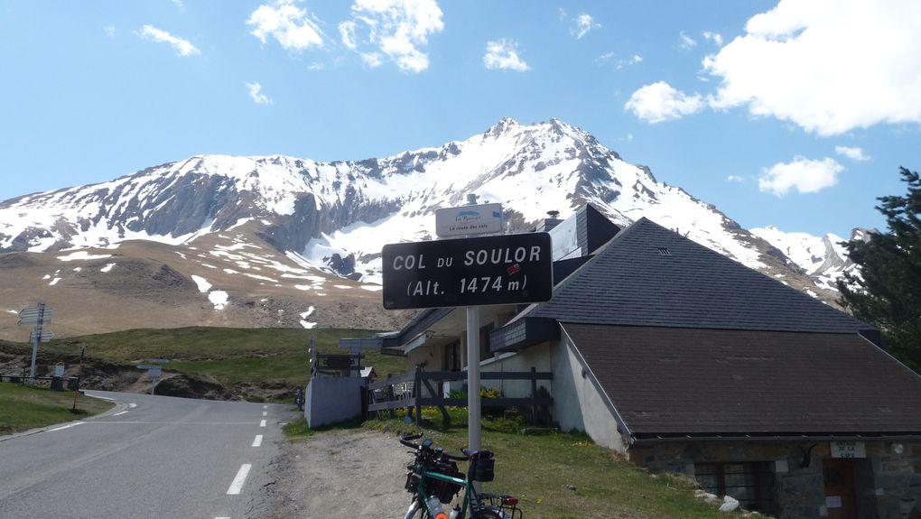 Le col du Soulor, face est, face nord.