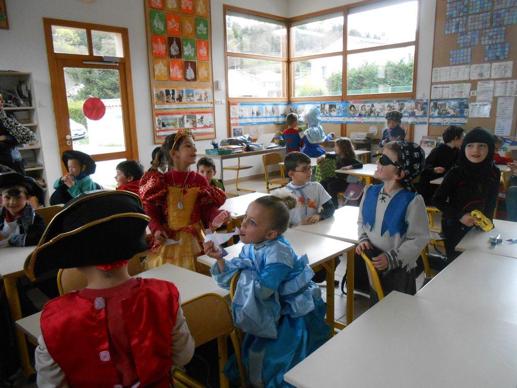 Tohu-bohu dans les classes, sous le signe du carnaval et du poisson d'avril