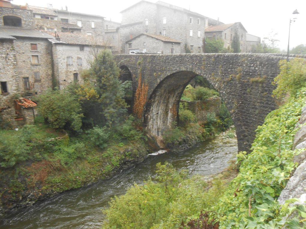 Le Lignon en aval du pont