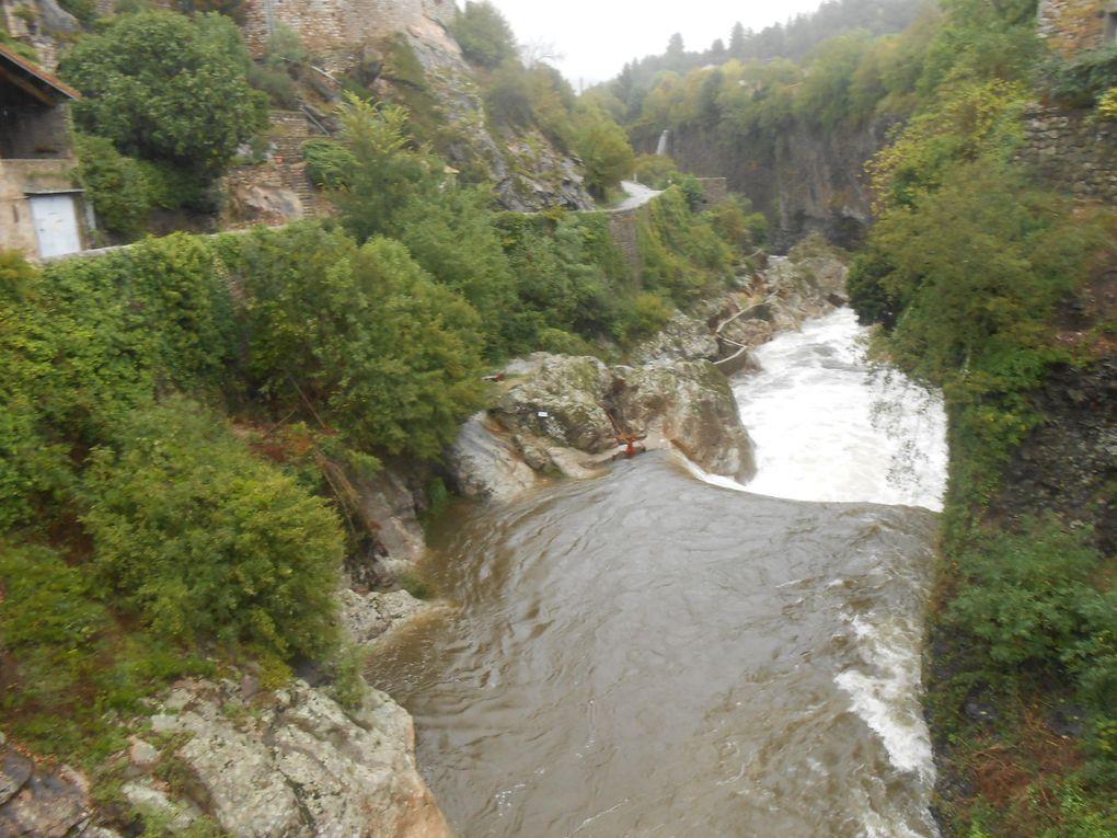 En aval du pont du Chastelas