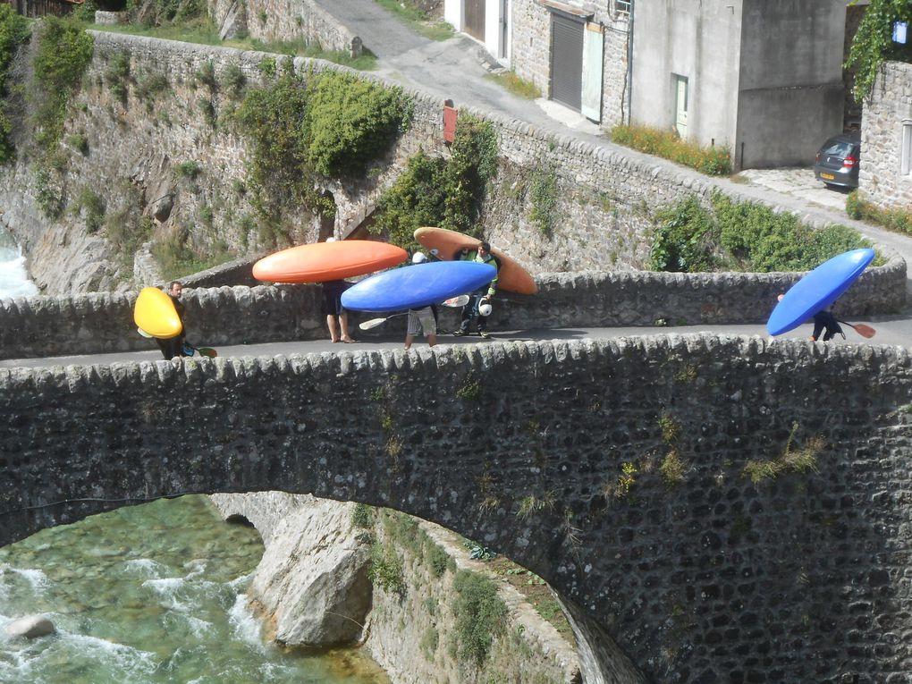 Passage sur le pont avant la mise à l'eau