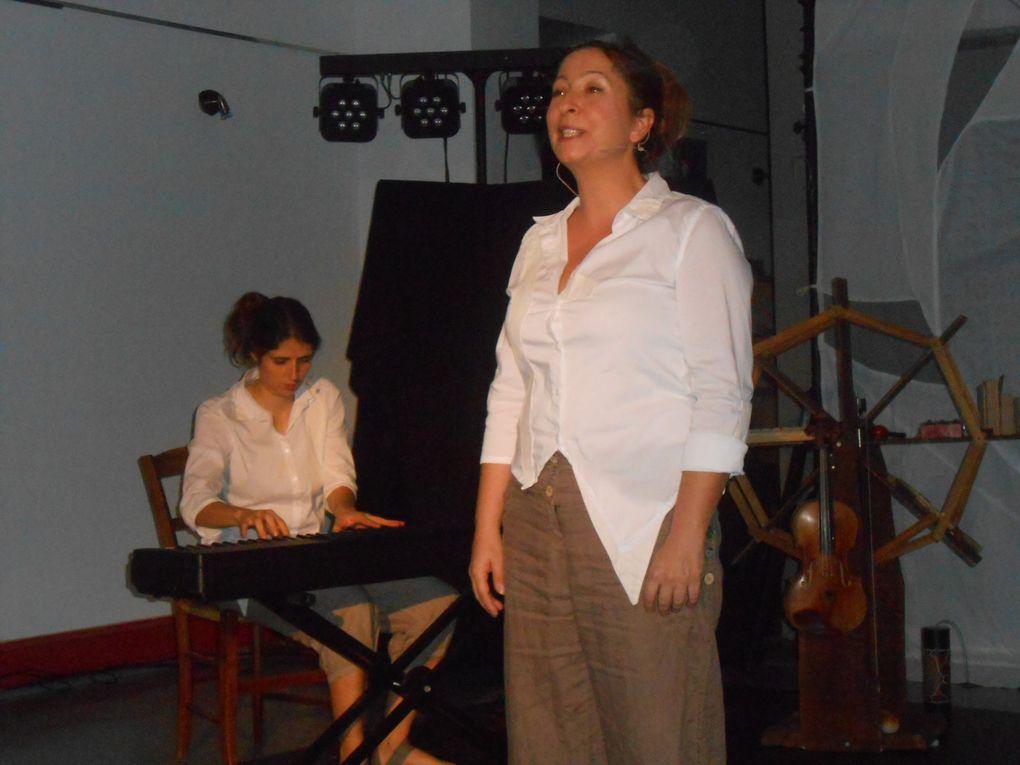Sophie Courtois et Estelle Harbulot