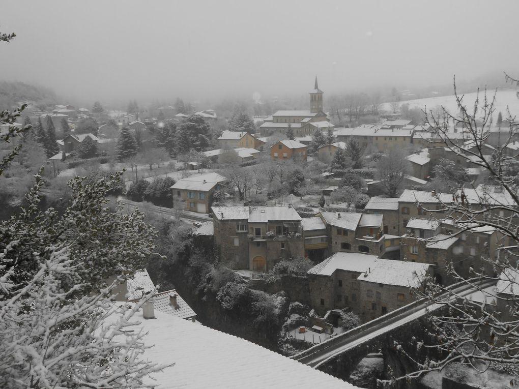 Neige de janvier...