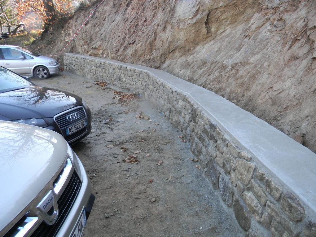 Le parking des Traverses