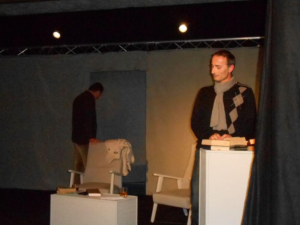 L'affrontement des deux comédiens sur la scène