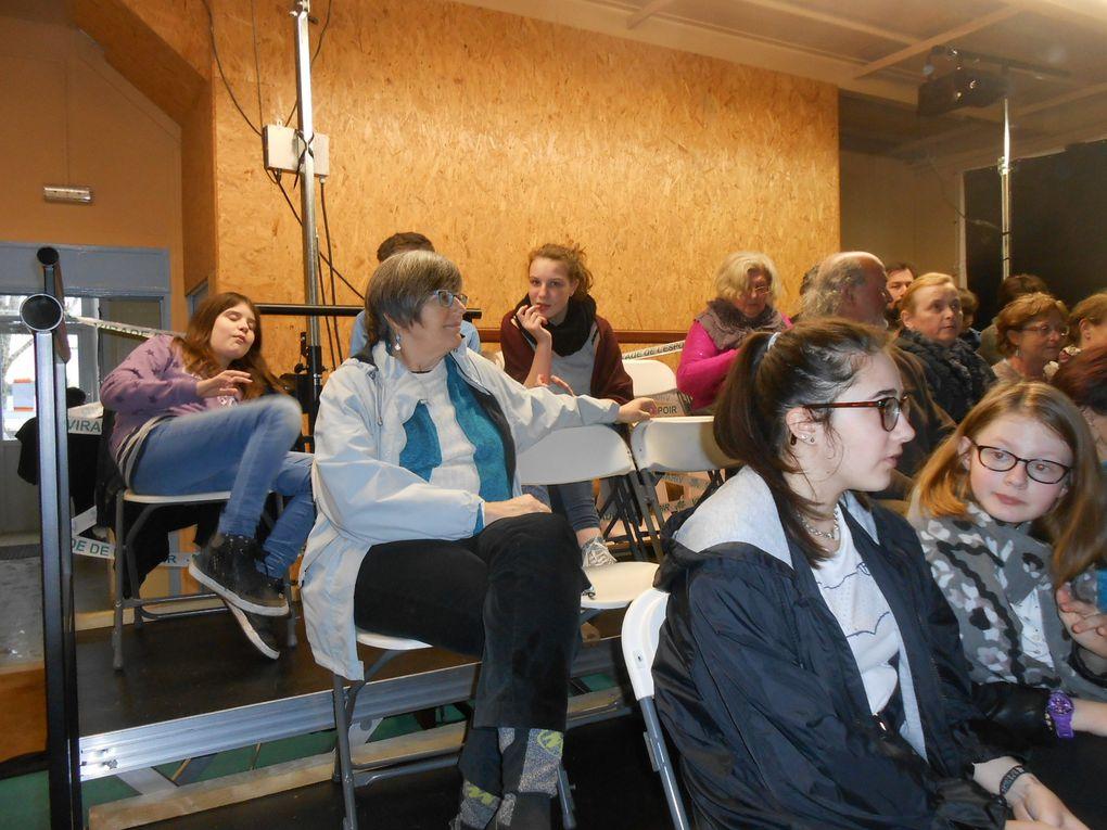 Le public était au rendez-vous: dimanche, une cinquantaine de personnes et 36 le samedi soir