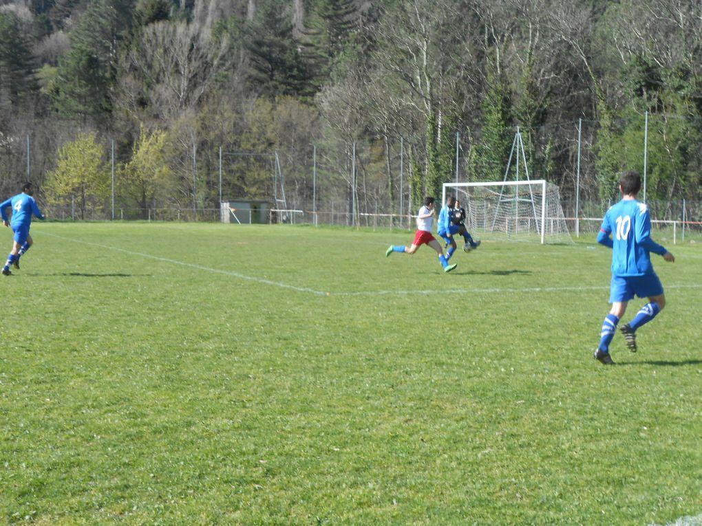 Foot : enfin une victoire pour le Jaujac Sportif