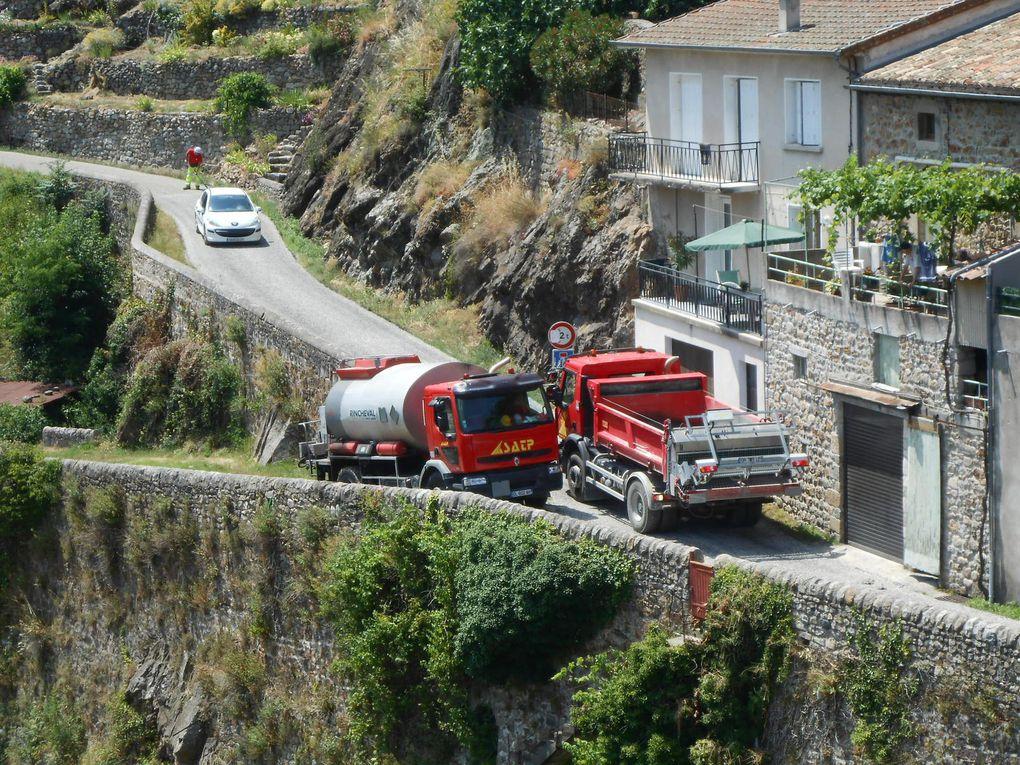 Il faut toujours gérer la circulation et la rotation des camions