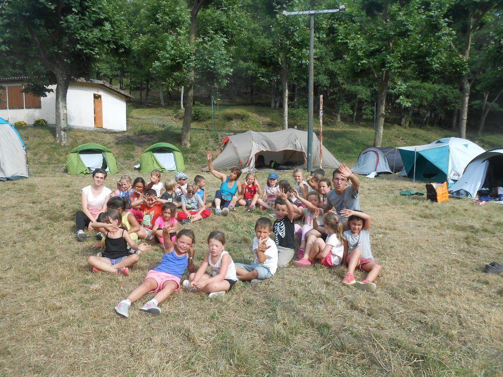 Le groupe des 6-9 ans est arrivé en éclaireur sur le site vers 17h00