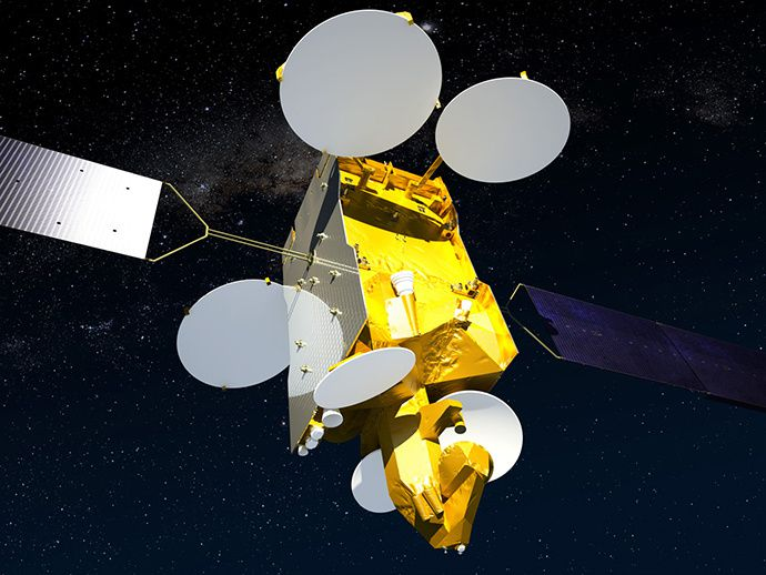 Proton delivered Airbus sat. into orbit in Russia's final 2014 launch