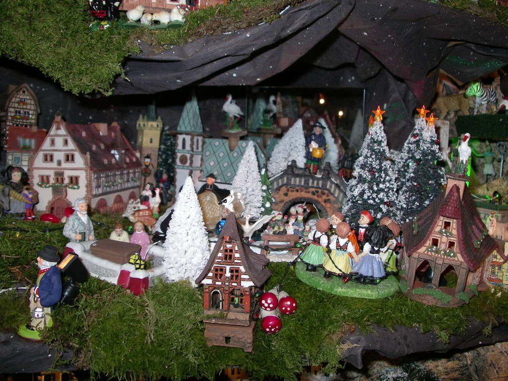 30ème crèche de Noël des Schléret... Visite du MIG...