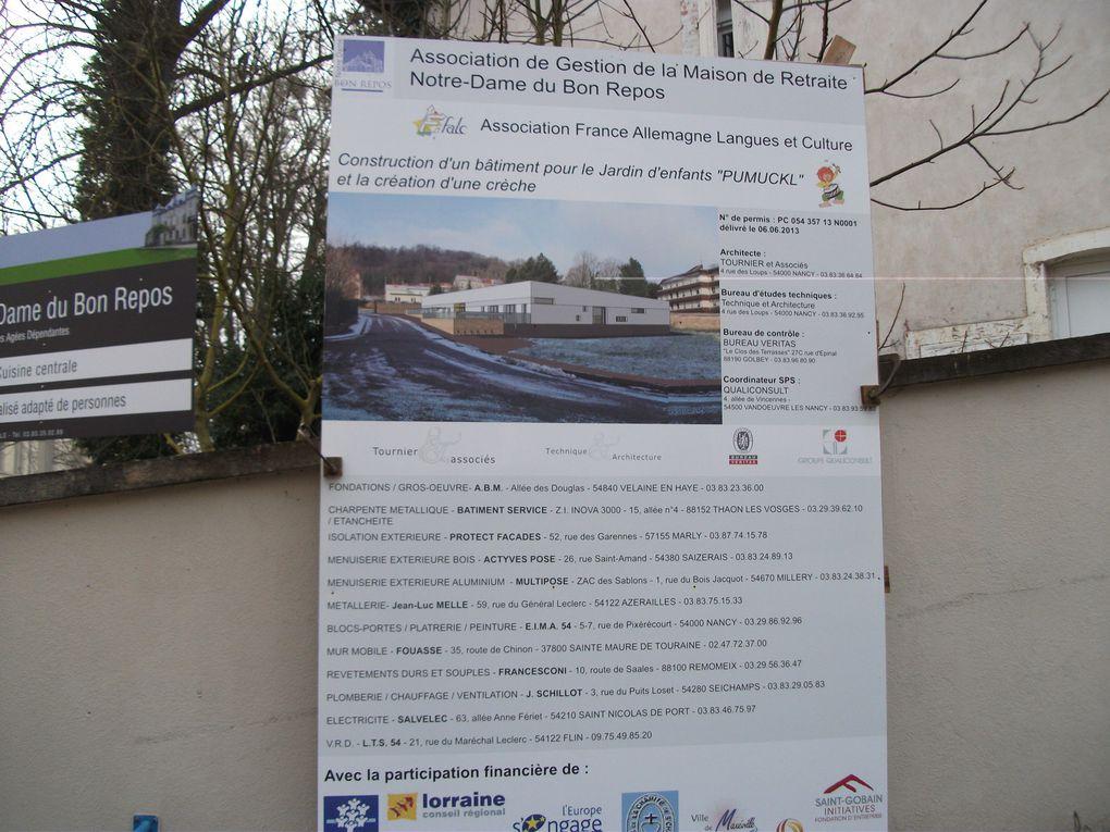 FALC et son jardin d'enfants franco-allemand, le PUMUCKL, à l'aise dans son nouvel établissement...