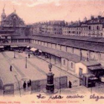 Redécouvrir la riche histoire du Marché Couvert de Nancy où vendredi &quot&#x3B;l'Impromptu&quot&#x3B; dressera le couvert...