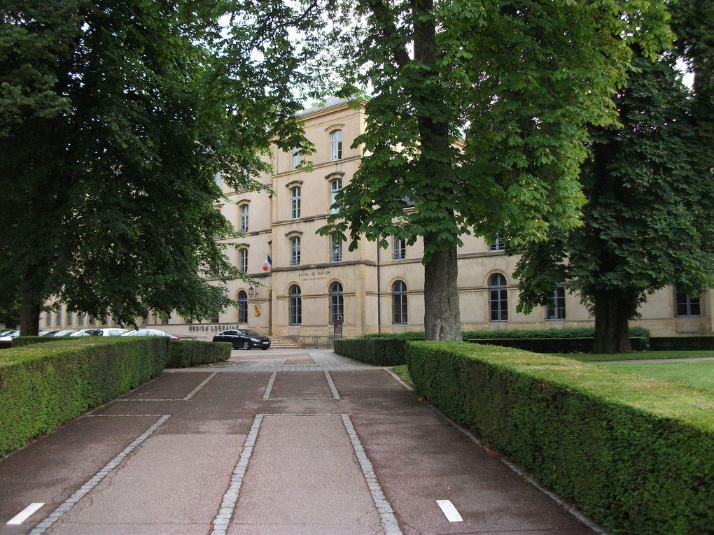 Une sortie à Metz, avec visite guidée de l'ex-Abbaye St Clément (devenue Hôtel de Région) et la Cathédrale