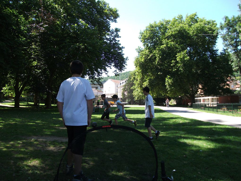 Cet été, des jeux gratuits dans le Parc de la Mairie
