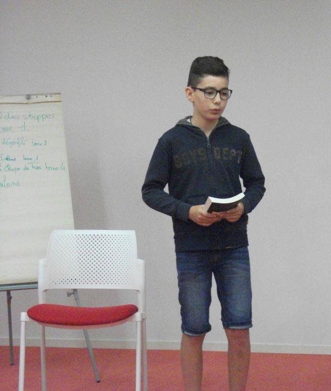 Salon de lecture - 6èE