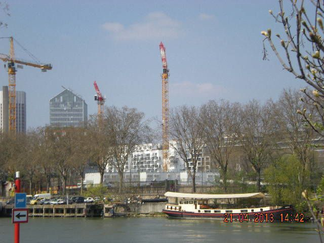 rando du 22 avril dans l'ile St Germain